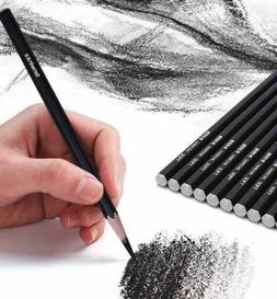 12 Pcs Pencils Set Art Artists Kit Sketching Drawing Graphit