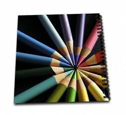 - 3dRose db_22339_2 Coloured Pencils Arraigned in Colour