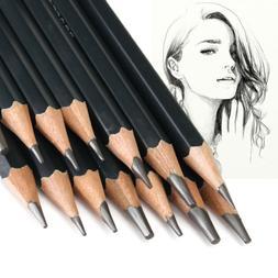 14pcs artists sketch drawing pencil set 12b
