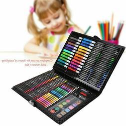 68x Drawing Pencils Set Crayon Colored Pencils Watercolor Ma