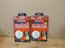 2  KOH-I-NOOR Woodless Professional Artist Colour Pencils 24