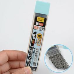 200Pcs 2B 0.7mm/0.5mm Mechanical Pencil leads Automatic Penc