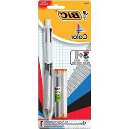 Bic 4-Color 3+1 Ball Pen and Pencil