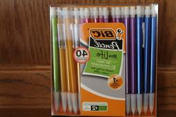 Bic 40 Count Mechanical Pencils 0.7 mm New