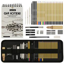 Deviazi  Drawing Artist Pencils Sketching Set with SketchPad