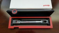 ROTRING 600 pencil 0.5 mm  original black/red case, vintage