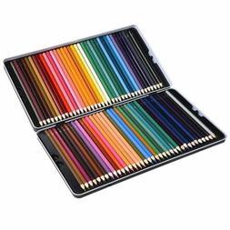 72 Colored Pencil Set Atmoko Watercolor Art Coloring Pencils