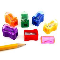72pcs Mini Bulk Plastic Pencil Sharpener Cap Student School