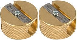 Alvin 9867 Sharpner Brass 2 Hole 12-box