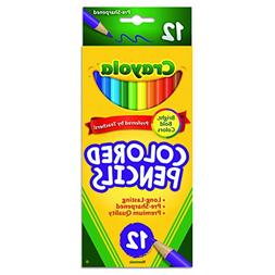 Crayola Long Barrel Colored Wood-case Pencils, Assorted Colo