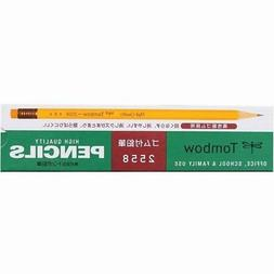 Tombow with rubber pencil B 2558-B 1 dozen Japan Import