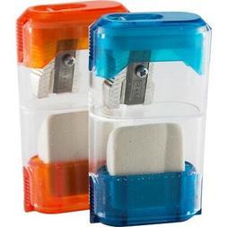 Wholesale CASE of 25 - Baumgartens Portable Pencil Sharpener