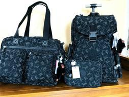 Kipling ALCATRAZ II Backpack SASHA Tote/Gym Bag &Pencil Case