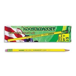 Ticonderoga - Woodcase Pencil, 2H #4, Yellow Barrel, Dozen 1