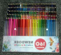 Best Colored Pencils - 160 Pencil Set W/Case - Artist Profes
