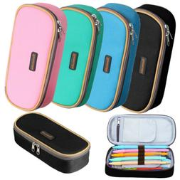 Homecube Big Pen Pencil Case Cosmetic Bag Makeup Organizer S