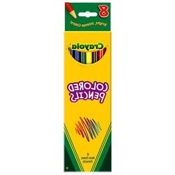 Crayola BIN4008BN Crayola Colored Pencils Assorted - 8 Count