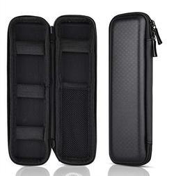 Kuuqa Black Hard Pencil Case EVA Hard Shell Pen Case Holder