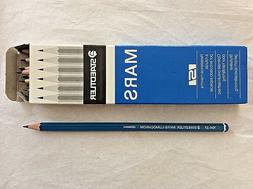 Box of 12 STAEDTLER MARS - LUMOCHROM 104 - 37  PENCILS. Blue