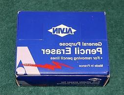 "BOX of ALVIN ""Pink Rose"" General Purpose Pencil Erasers, 40"