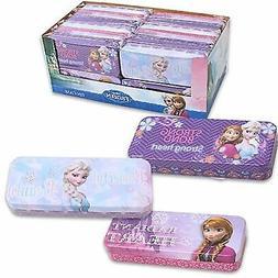 New Kids Disney Frozen Tin Pencil Case Box For Girls