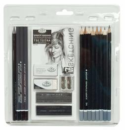 Brand New -  Royal Langnickel Sketch Drawing Pencil Art Set