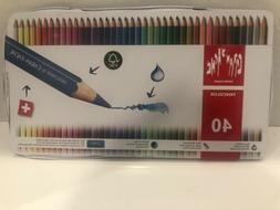 Caran d'Ache Fancolor Water Soluble Colour Pencils Set