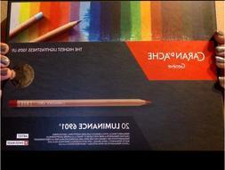 Caran d'Ache Luminance 6901 Colour Pencils  Set 20