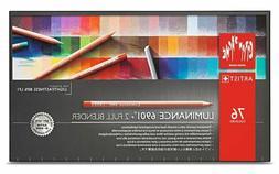 Caran d'Ache LUMINANCE 6901 coloured pencil 12 Set, 20 Set,