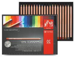 CARAN D'ACHE Luminance 6901 Professional Colour Pencils | 20