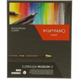 Caran D'Ache Museum Aquarelle Pencil Set Art