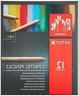 Caran D'ache Set of 12 Pastel Pencils