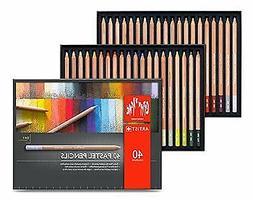 Caran d'Ache Set of 40 Pastel Pencils