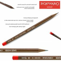 Caran d'Ache - SWISS WOOD GRAPHITE PENCILS HB - Made in Sw