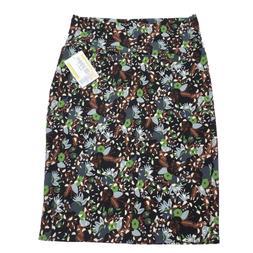 LuLaRoe Cassie Pencil Skirt Black Green Brown Floral NWT Lar