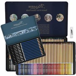 cezanne 85 piece graphite and colored pencil