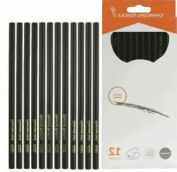 13-Piece Charcoal Pencil Kit