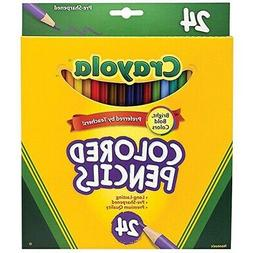 Crayola Colored Pencils 24-Color Set  - 24-Count
