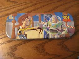 Disney Original Toy Story Metal Pencil Box Tin - 1996