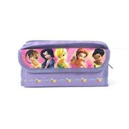 Disney Tinker Bell Purple Color Pencil Case Pencil Pouch for