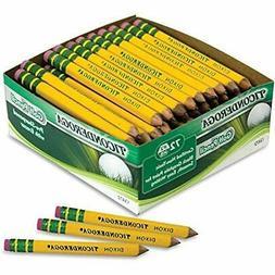 DIX13472 Wooden Lead Pencils Golf Pencil, Yellow  Office Pro