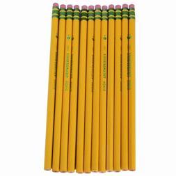 Dixon 13881 - Ticonderoga Woodcase Pencil, B #1, Yellow Barr
