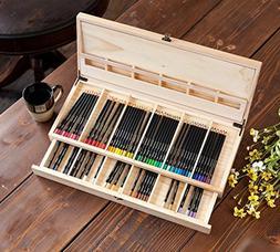 Crayola Color Escapes Wooden Art Case 04-0112