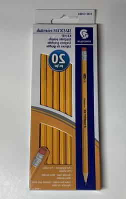 Staedtler Essentials Pre-Sharpened #2 HB Yellow Wood Graphit