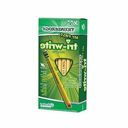 Ticonderoga Wood-Cased My First Tri-Write Pencils, 2 HB Soft