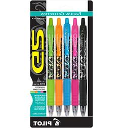 Pilot G2 Fashion Collection Colors Gel Roller Pens, Fine Poi