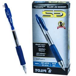 Pilot G2 Gel Roller Ball Pen, Retractable, Blue Ink, 0.5mm E