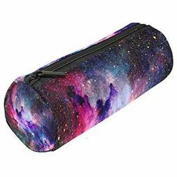 Galaxy Nebula Pen Pencil Bag Pouch Box Organizer Holder, Sta
