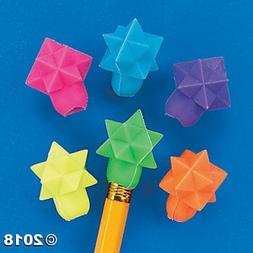Geometric Star Eraser Top, Package of 576