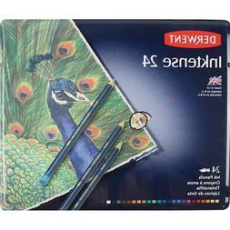 Derwent Inktense 24 Pencil Tin Set